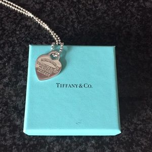 Tiffany & Co Sterling Silver Pendant Necklace
